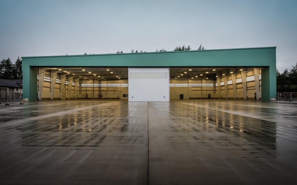 Steel Building Hangar