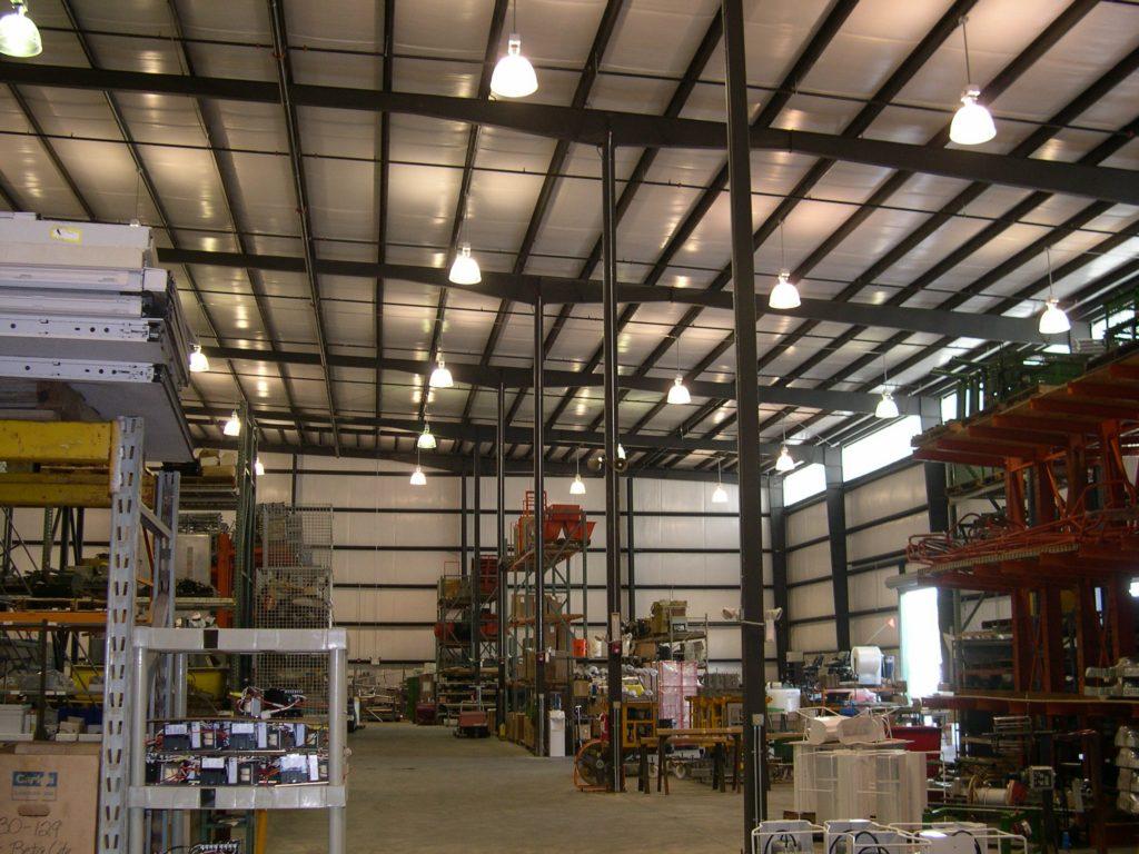 Steel Building Framing