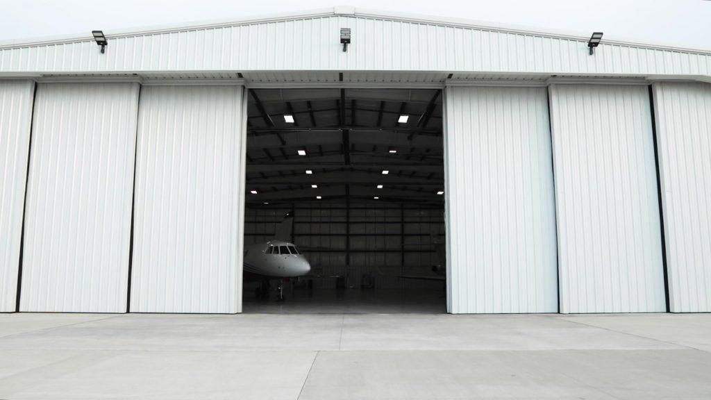 Steel Building Hangar Sliding Door