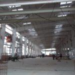 Pre Engineered Steel Building Framing