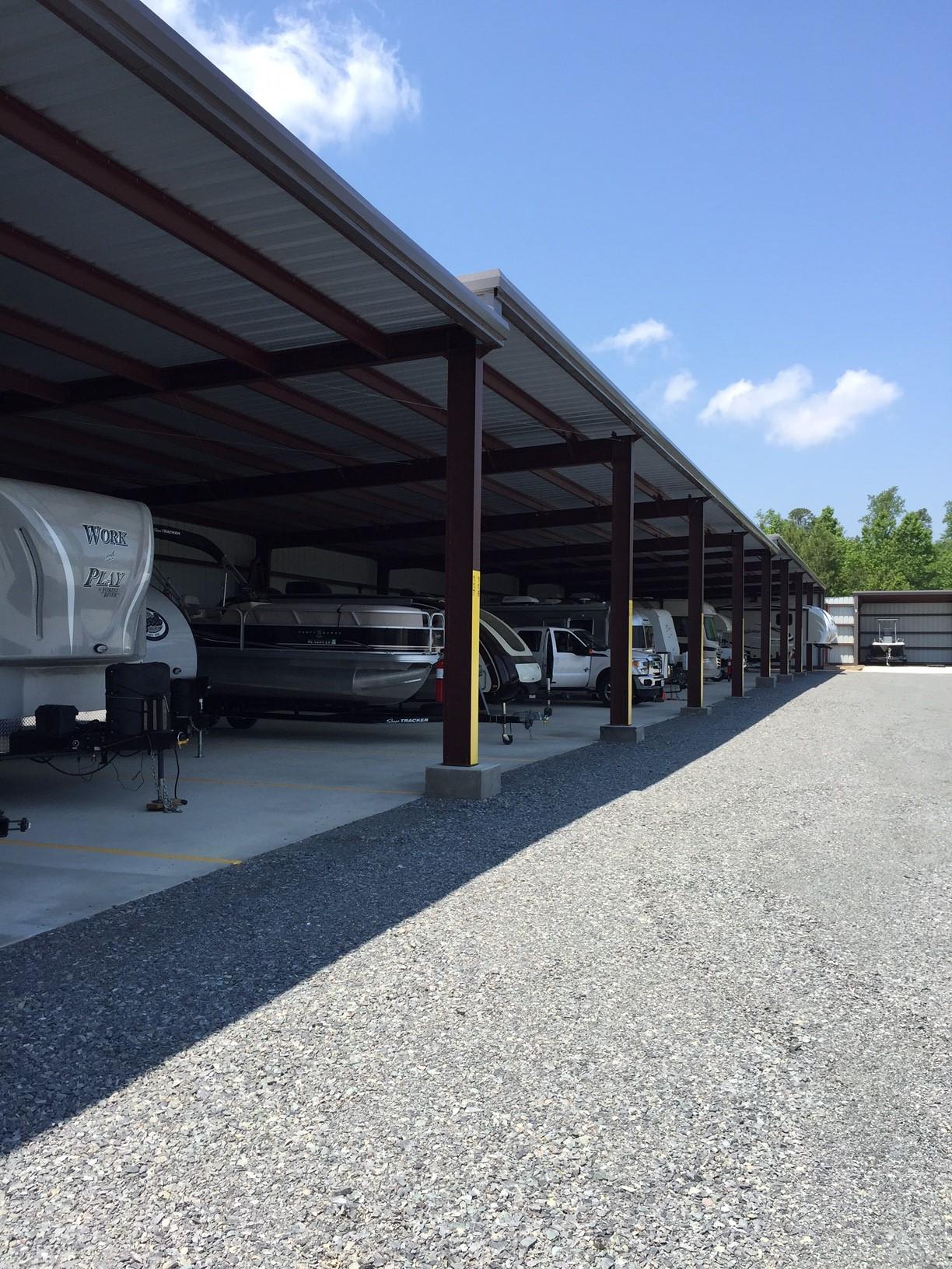 Boat Storage Steel Building