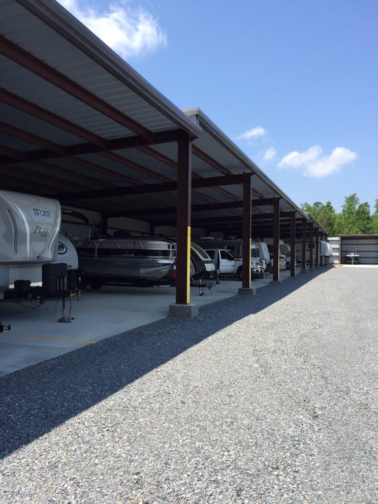 Boat & RV Storage Steel Building