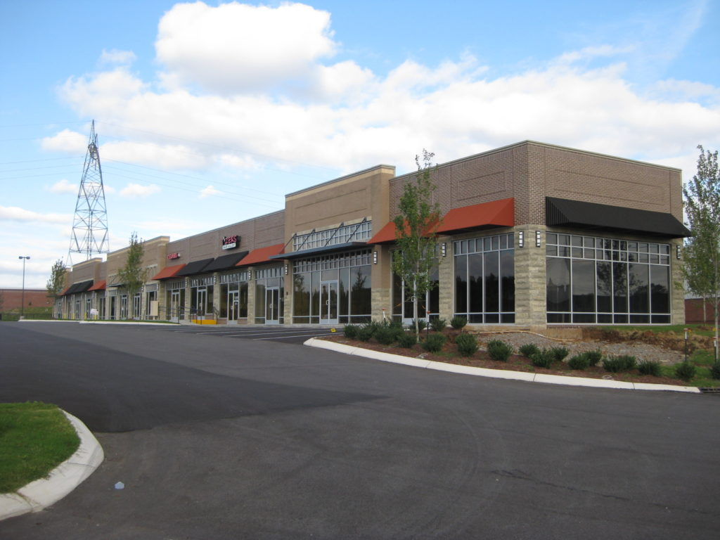 Commercial Retail Steel Building