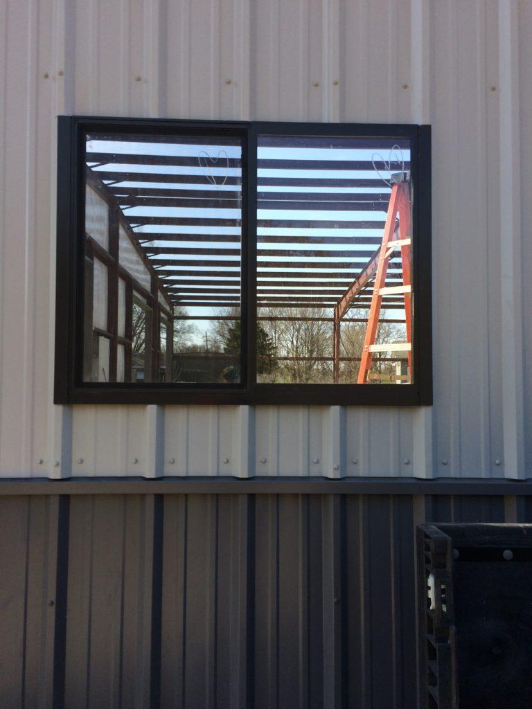 Metal Building Window