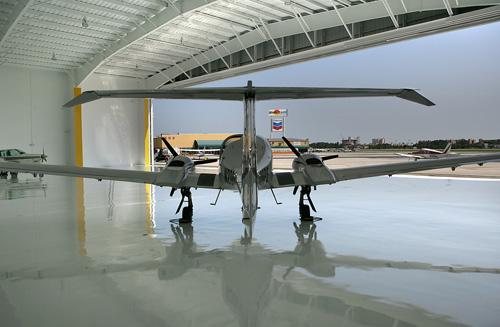 Pre Engineered Steel Building Hangar