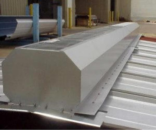 Steel Building Ridge Vent
