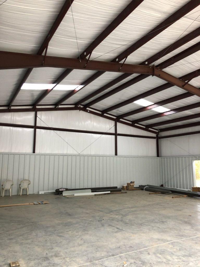 Steel Building Garage