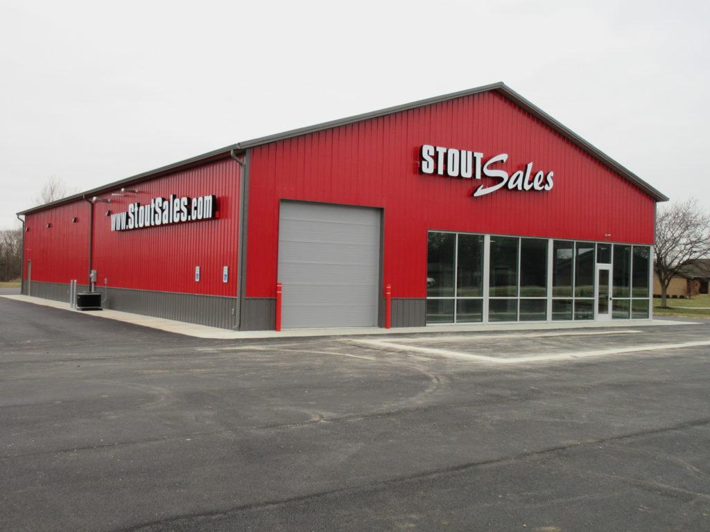 Automotive Steel Building